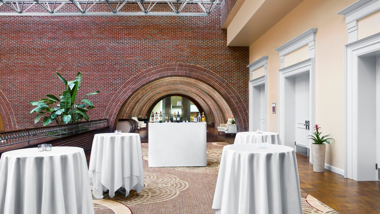 Raleigh Wedding Venues - Sheraton Raleigh Hotel Reception Area