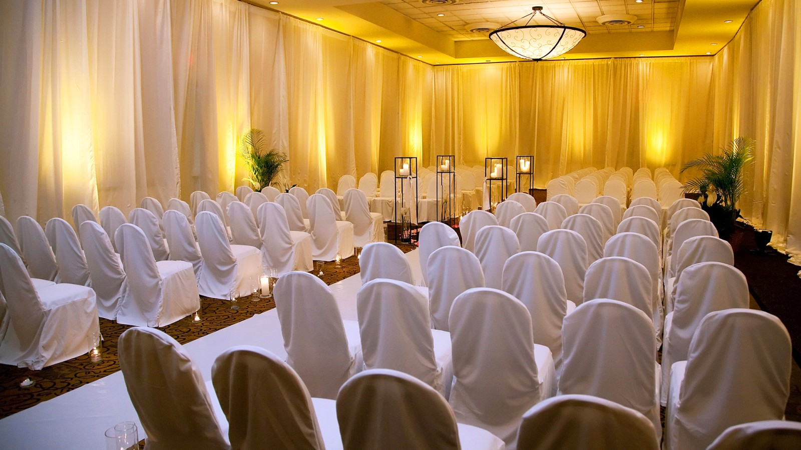 Raleigh Wedding Venues - Sheraton Raleigh Hotel Ceremony